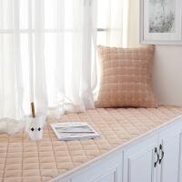 海绵飘窗垫窗台垫毛绒定做榻榻米垫田园卧室阳台毯子飘窗毯厚