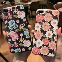 苹果6 7 8 x彩绘手机硬壳 金属边键手机壳iPhone 6s plus浮雕彩绘手机壳 iphone8手机壳硬壳 i