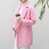 2018秋冬装新款韩版毛呢大衣女士外套中长款呢子大衣风衣