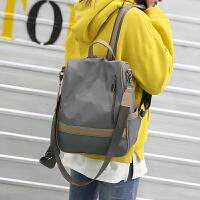 牛津布双肩包女包2018新款韩版潮包包百搭尼龙两用背包女学生书包