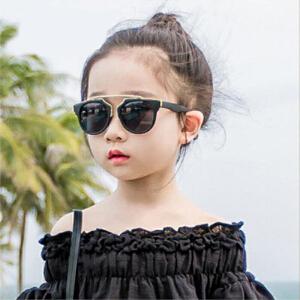 2016新款明星时尚太阳镜 亲子款潮流猫眼墨镜 儿童太阳眼镜