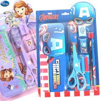 迪士尼小学生文具礼盒套装男女童幼儿园文具套盒开学文具生日
