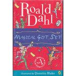 Roald Dahl Gift 罗尔德・达尔小说精选礼盒装《查理和巧克力工厂》《查理和大升降机》《爱幻想的狐狸先生》《詹姆斯和仙桃》 9780142414972