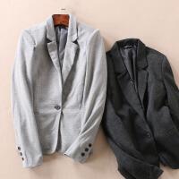 女装西服春季通勤修身显瘦百搭女士小西装外套 WD3061