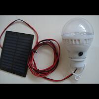 太阳能野营灯太阳能灯泡家用太阳能照明学习灯应急照明灯3.5W
