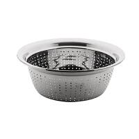 不锈钢盆家用厨房圆形洗菜盆不锈钢加厚盆子多用洗菜篮漏盆沥水篮