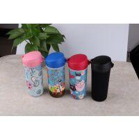 加厚500ML茶韵杯杯套保温塑料水杯袋防摔水壶套保护套