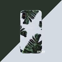 性冷淡风植物芭蕉叶苹果X/Xs/Max/XR手机壳iPhone7plus/6s全包软8