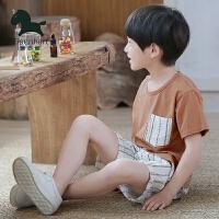 男童夏装新款套装休闲夏季帅气韩版潮衣儿童短袖短裤两件套装