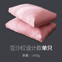 紫罗兰100支酒店羽绒枕头羽毛枕芯五星级单人纯棉护颈枕