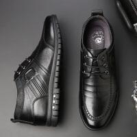 秋季内增高男鞋6cm真皮隐形增高鞋男士商务休闲皮鞋男韩版系带