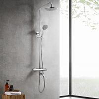 JOMOO九牧智能恒温花洒淋浴器套装挂墙式26096-359/1B1-1