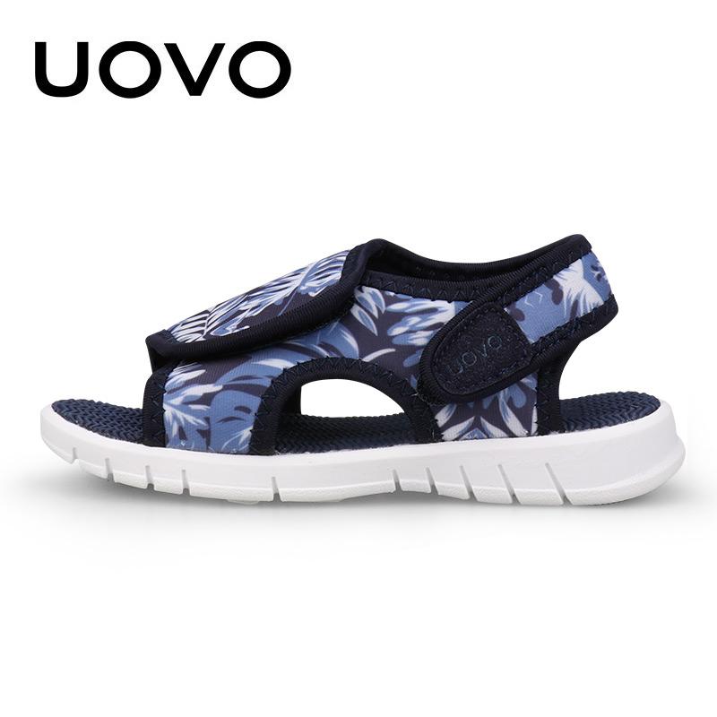 【每满100立减50】 UOVO2018夏季新款儿童凉鞋沙滩鞋男童凉鞋女童沙滩鞋 贝宁【每满100立减50 支持礼品卡】