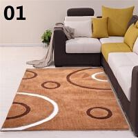 房间茶几地毯客厅沙发简约现代茶几垫卧室榻榻米满铺床边家用地垫 卡其色 1号