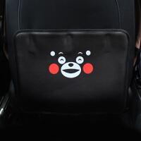 汽车内饰座椅椅背防踢垫防脏垫创意卡通坐椅背装饰后排儿童防踢垫