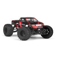 儿童电动玩具1:18全比例四驱大脚遥控车模型玩具车
