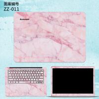 笔记本贴膜14寸联想小新潮7000 2018款全套简约创意电脑贴纸air12 13 PRO air1