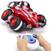 翻滚特技车翻斗车遥控车越野遥控汽车模充电动赛车儿童玩具车男孩le7