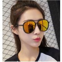 欧美新款大框太阳镜男女时尚炫彩墨镜5127 潮流百搭太阳眼镜