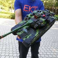 大型遥控坦克 充电对战可发射越野履带式遥控车 男孩儿童玩具汽车