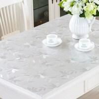 防水厨房电炉罩套正方形茶几桌布桌面透明胶垫客厅软胶折叠材质