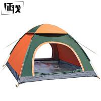 征伐 帐篷 户外3-4人全自动双人沙滩露营简易多人防雨野营帐篷