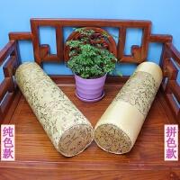 ???新款中式红木沙发方扶手枕头罗汉床坐垫圆枕抱枕腰枕方枕靠枕含芯