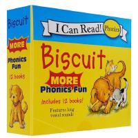 【12册】biscuit小饼干狗系列 Biscuit More Phonics Fun 自然拼读 I Can Read