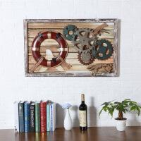 复古工业风墙面装饰品创意齿轮壁挂家居吧挂件船锚餐厅壁饰