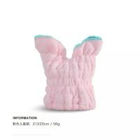 韩国可爱擦头发速干包头毛巾浴帽兔子耳朵干发帽吸水