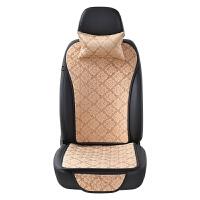 汽车坐垫单片 汽车座垫夏季 三件套 无靠背车垫 新款坐垫四季通用 北欧风-灰色 三件套