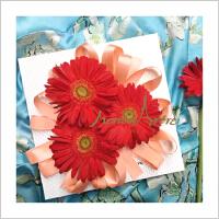 蒙马特大街设计师设计手工包装盒精美礼盒植物装饰复古花纸礼品鲜花礼盒