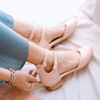 女大童包头凉鞋春夏季韩版公主鞋中小学生白色舞蹈表演鞋