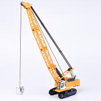 合金工程车模型1:87塔式缆索挖掘车吊车玩具儿童玩具小汽车