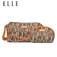 女包单肩包2018新款上新小包斜挎包迷你小包子母手拿包两件套SN2257 橘色 现货