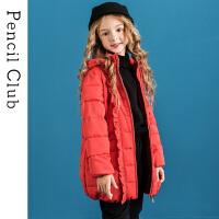 【2件3折�r:99元】�U�P俱�凡客��b2020冬季新款女童棉衣中大童棉外套�和�保暖外套