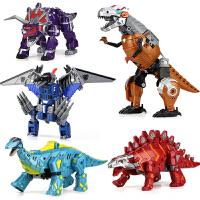变形金刚玩具恐龙战队正版机器人五合体霸王龙模型儿童男孩3-6岁8