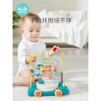 可优比绕珠串珠百宝箱一岁宝宝婴儿积木2-3岁儿童玩具益智早教