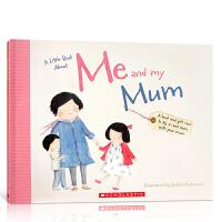 【全店300减100】英文原版绘本 A little Book About Me and my Mum 关于我和我妈妈的