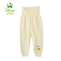 【3折价:27】迪士尼Disney 婴儿春季保暖内衣宝宝裤子高腰护肚裤153K660