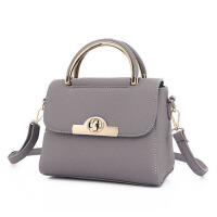 女士包包手提包韩版斜挎包百搭小方包锁扣包单肩包女包送女友爱人礼物