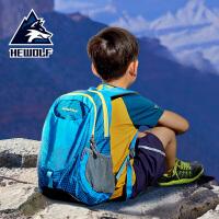 户外超轻儿童双肩背包中小学生旅游男女童运动轻便旅行包春游书包