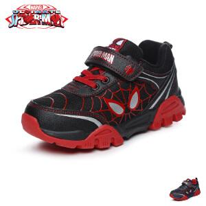 【清仓特惠】迪士尼disney童鞋17冬款儿童运动鞋男童休闲鞋天鹅绒保暖户外鞋 (5-10岁可选) DS2590