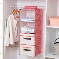 新款抽屉式衣柜收纳挂袋悬挂式收纳袋衣物收纳盒多层储物袋