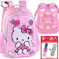 凯蒂猫hello kitty一儿童双肩kt猫女童背包书包小学生女孩1-3年级