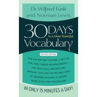 【预订】30 Days to a More Powerful Vocabulary