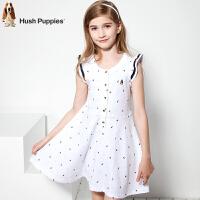 【3件3折:131.7元】暇步士童装年夏季女童印花POLO裙HLX80414