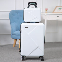 2018万向轮子母拉杆箱20寸小行李箱女学生24寸旅行箱韩版密码箱26