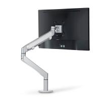 单屏液晶显示器支架 万向旋转升降电脑架显示屏桌面底座