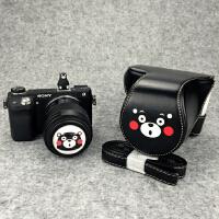 佳能M3相机包M10 100D750D80D70D M6皮套M100索尼A6000A5 EOS M3 55-200mm